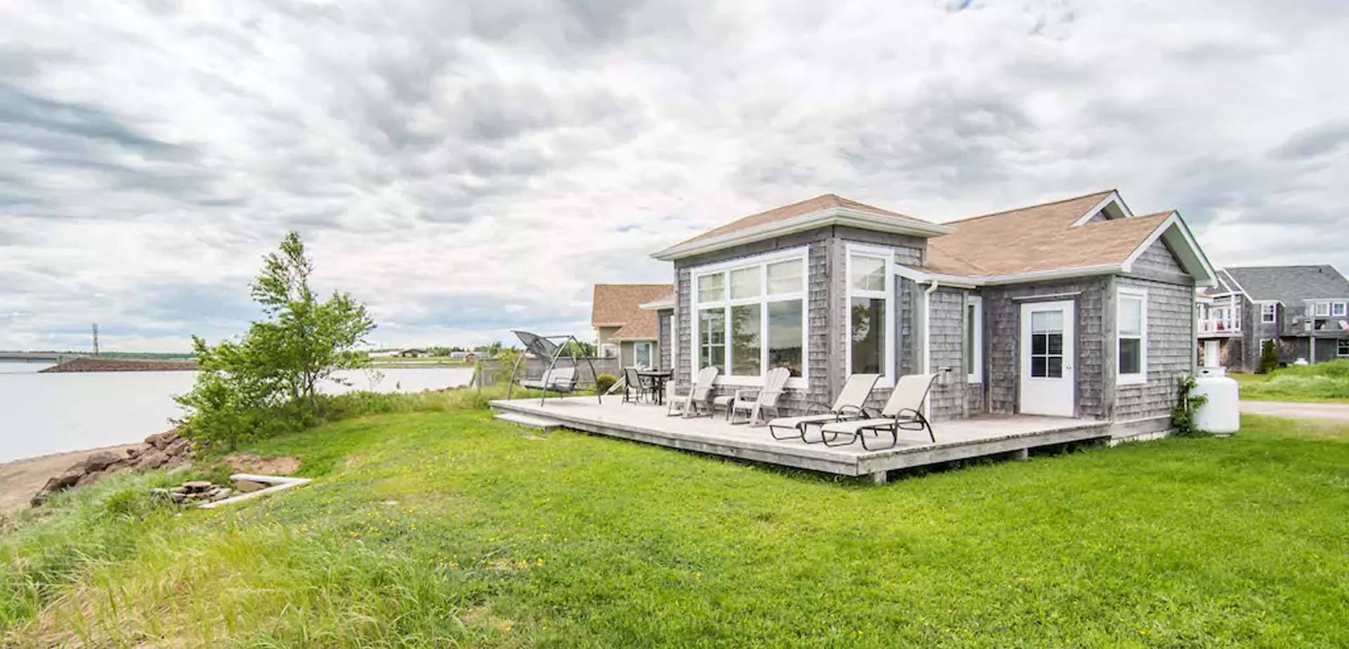 cottage rentals new brunswick,fully equipped cottage rentals cocagne nb